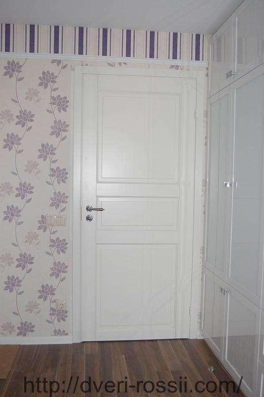 белые межкомнатные крашенные двери днепр