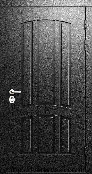 Дверь входная металло-филёнчатая м-002