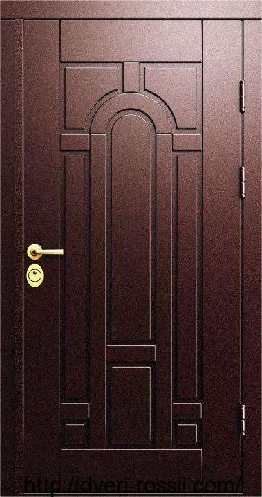 Дверь входная металло-филёнчатая Русь М005