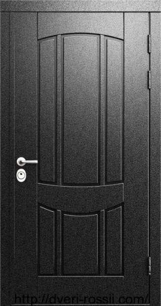 Дверь входная металло-филёнчатая м-006