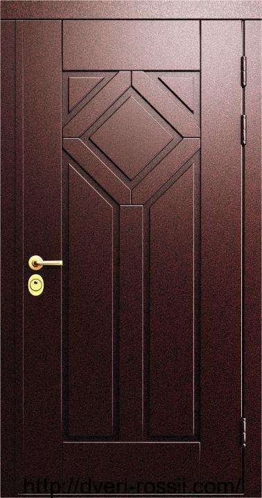 Купить Дверь входная металло-филёнчатая