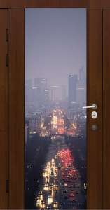 Металлические  двери Премьер фотопечать-21