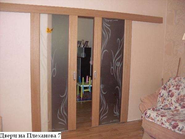 Двери раздвижные