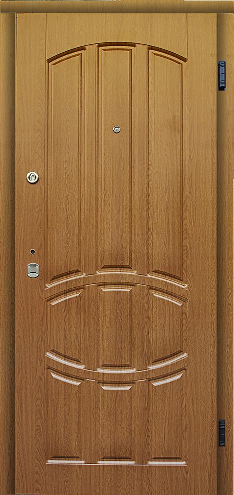 Ирида-дуб натуральный-входная белорусская дверь для квартиры