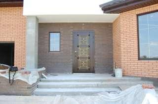 Входные двери для дома- премьер-мс-м-010-ковка золото