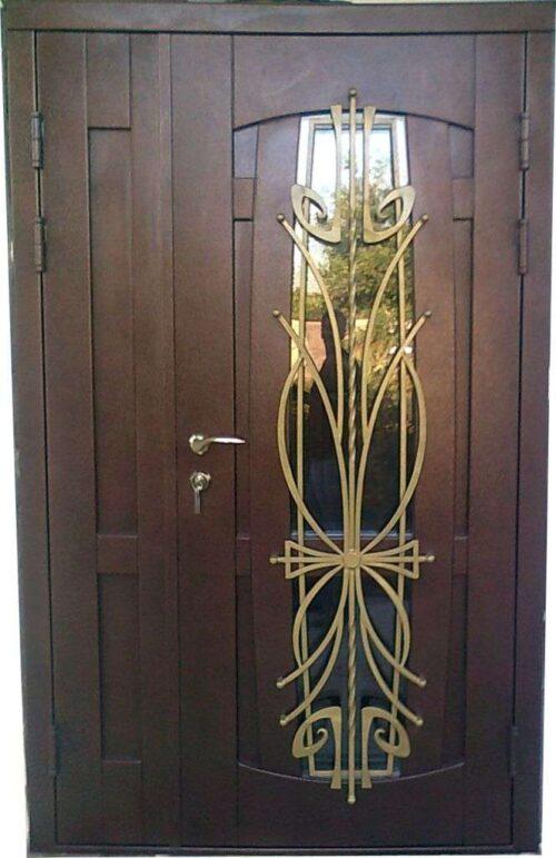 Купить полуторные входные двери мс-012