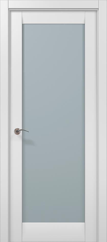 Купить двери папа Карло белый мат-ml-00c