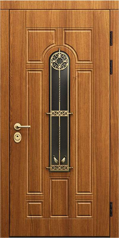 Двери в дом со стеклом-0679859931