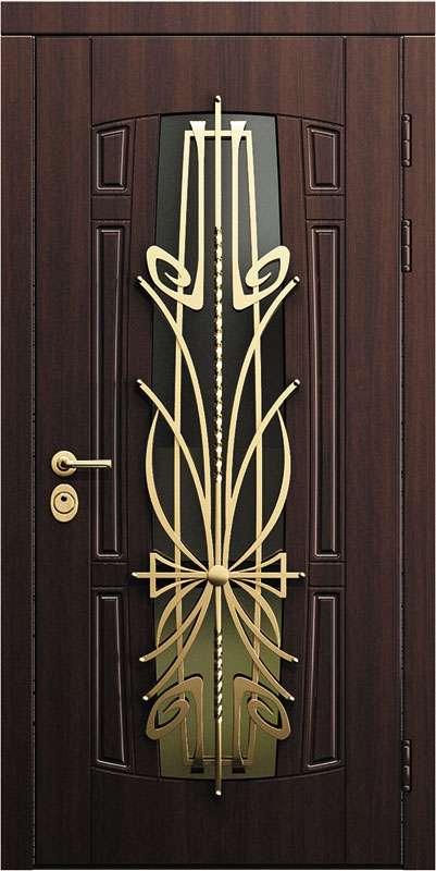 Входные двери Премьер мс-012-орех