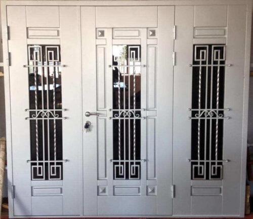 Входные не стандартные двери -0679859931
