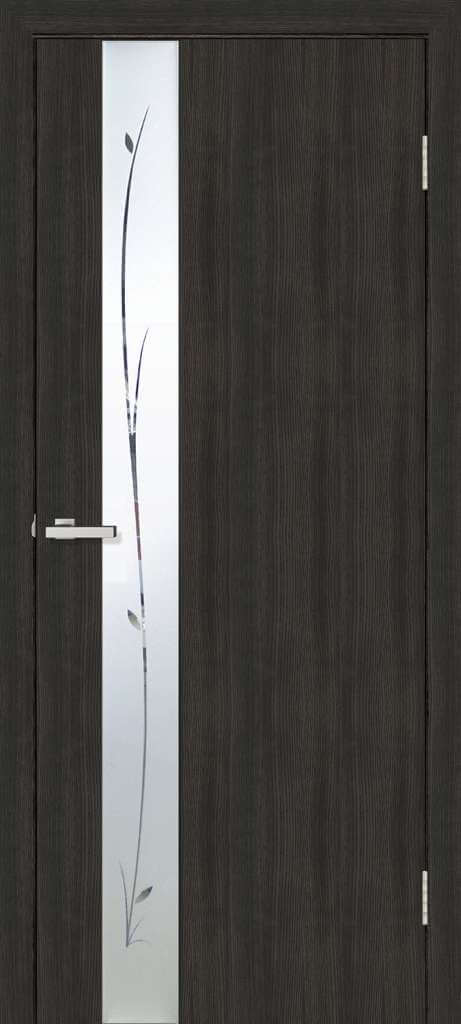 Двери Омис Зеркало венге