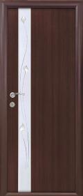 Двери новый стиль каштан
