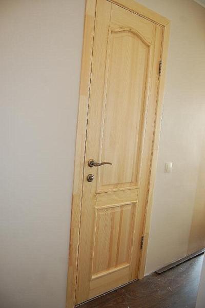 Деревянные сосновые двери ПГ