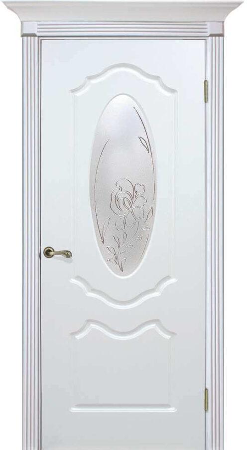 Двери омис оливия белая эмаль