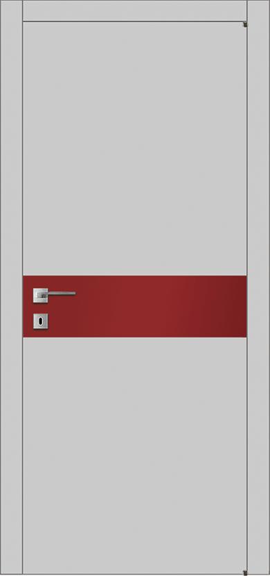 Двери МДФ со вставкой стекла A2S