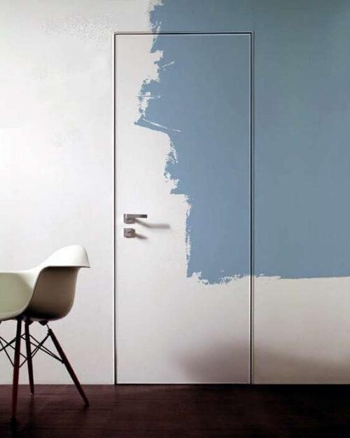 Скрытые двери грунтованные