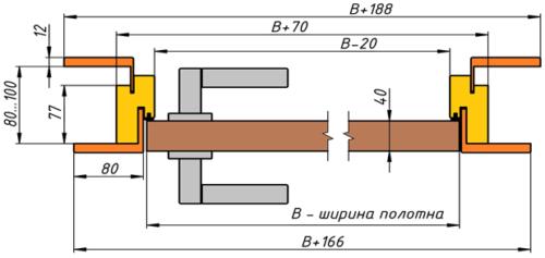 Схема дверей Премио Артдор