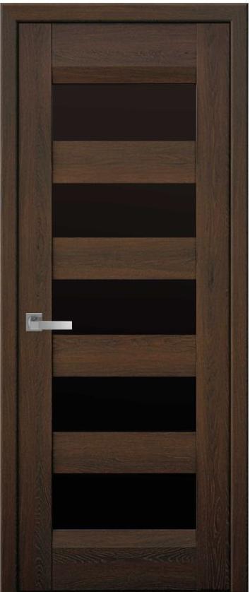 Двери Бронкс Новый Стиль дуб шоколадный