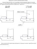 Технические размеры коробок Новый стиль херсон