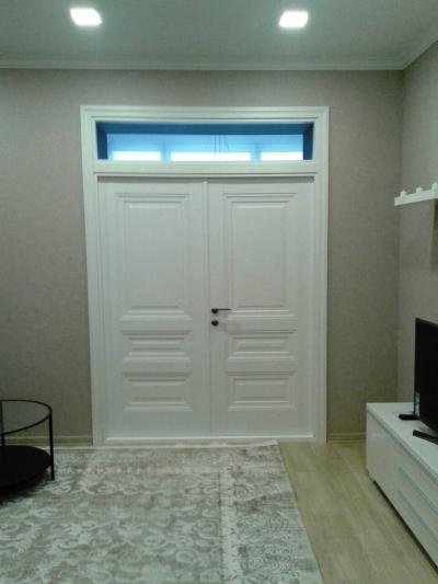 Межкомнатные двойные двери Новый стиль