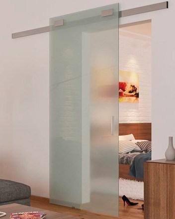 Система раздвижная стеклянных дверей