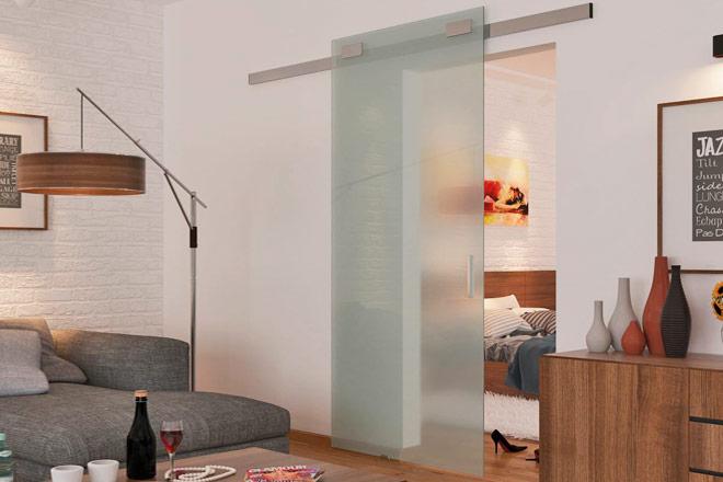 раздвижная система для стеклянных дверей Design 80 V