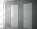 Межкомнатные скрытые двери белого цвета