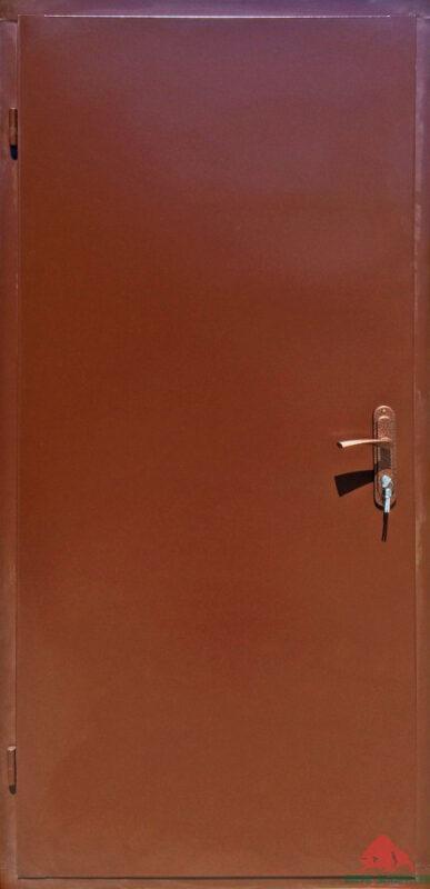 Входная дверь эконом-металл-металл