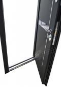 Дверной короб входной двери с нержавеющим порогом