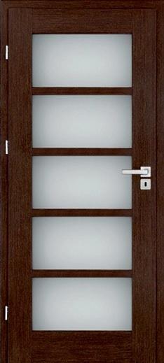 Дверь Бергамо венге