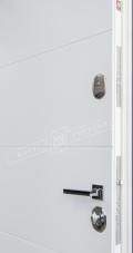 Белые накладки входные двери
