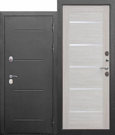 Двери с терморазрывом листвинница бежевая