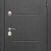 Двери с терморазрывом изотерма серый антик венге