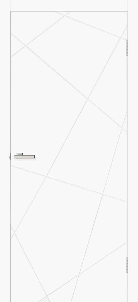 Двери Омис Геометрия1 Белый мат