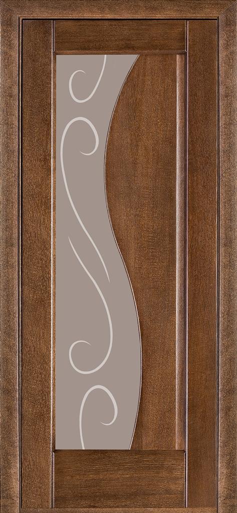 Двери Терминус 16 дуб браун ПО