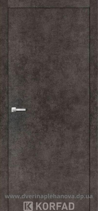 Щитовая дверь моделдь LP-01 лофт бетон